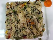 Orez sălbatic (mexican) cu pui și legume