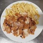 Kebab mäso + hranolky