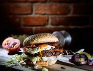 Egg Bacon Burger