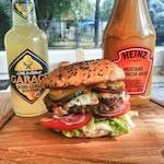 Burger Pac Blue Cheese - Zestaw