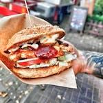 Burger Pac Grilled Chicken - Zestaw
