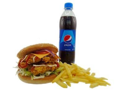 Big Cheese Felix Burger Menu