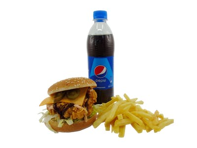 Texas Burger Menu