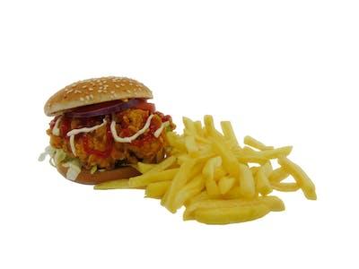 Felix Burger + Frytki