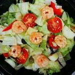 Zeleninový salát s krevetami (1,2,3)