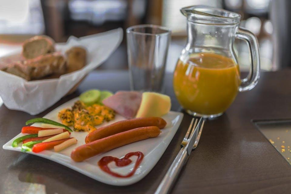 Raňajkové menu