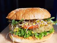Burger wegetariański- Ciecior