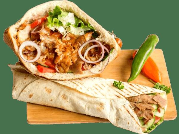 Kebab MEGA potężny!