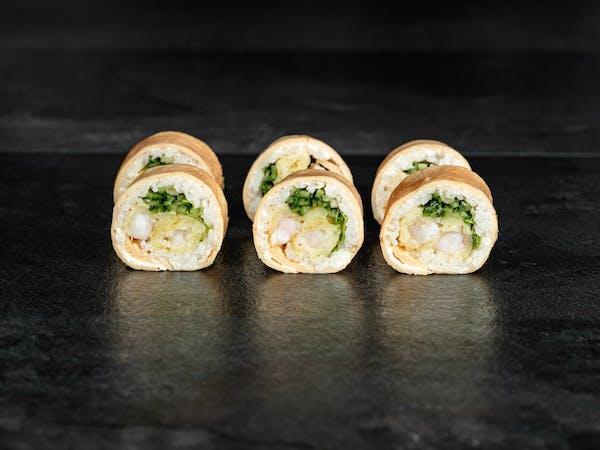Tamago roll ebi ten