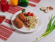 Kruczenyki z ryżem i warzywami