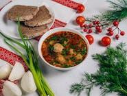Zupa z frykadelkamy