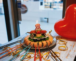 Tort sushi, urodziny, rezerwacje sushi