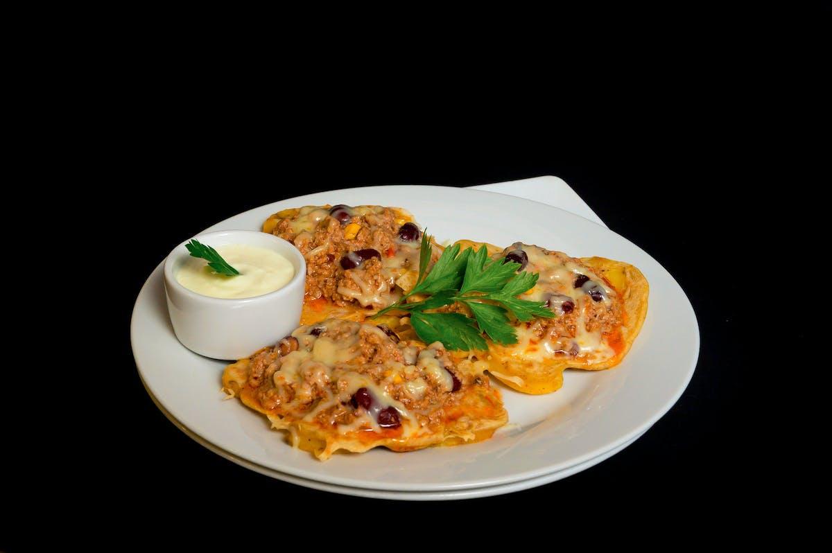 Placki ziemniaczano-naleśnikowe zapiekane z mozzarellą 350g