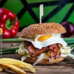 Burger Sunny Side