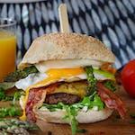 Burger Szparagus
