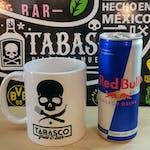 Red Bull 0,25 l + Kubek Tabasco