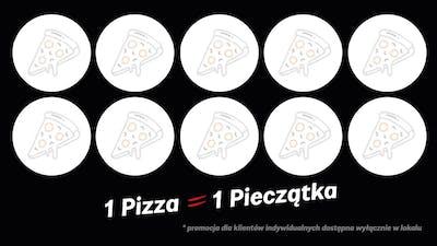 Pizze za Pieczątki