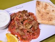Kebab din carne de vită