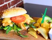8. BBQ Chicken Burger