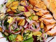 2. Sałatka z grillowanym ananasem i kurczakiem