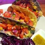Tacos awokado vege