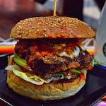 Burger Cemita z chorizo