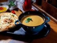 Supă cremă de linte cu curry
