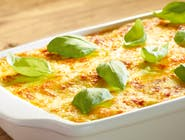Lasagne naleśnikowa wegetariańska