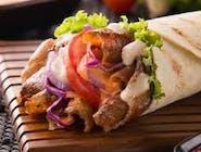 Kebab cienki chleb
