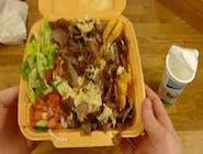 Kebab na talerzu