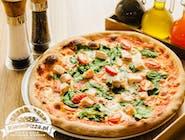 Pizza Pesce e spinaci