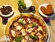 Pizza Nduja in rosso