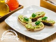 Bruschetta all'avocado