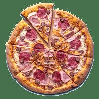 Duża pizza w cenie małej - 4-składnikowe
