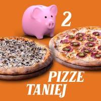 Kup 2 duże pizze taniej