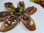 Bruschete cu anchois