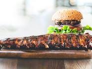 Żeberko Burger / Бургер из свиных ребрышек