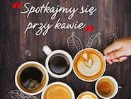 Kawa z ekspresu z mlekiem ( na wynos) 250 ml