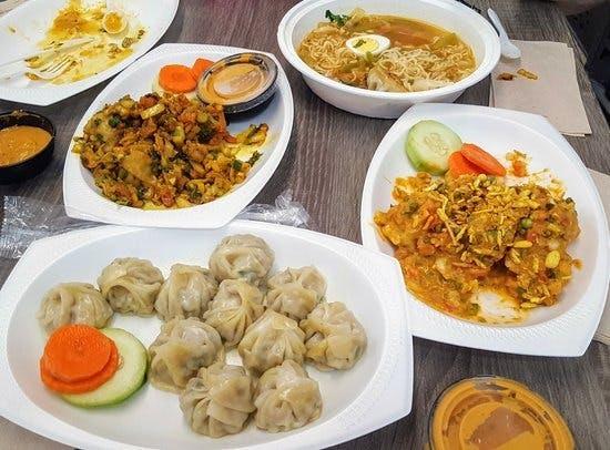 nepalskie himalajskimi dania