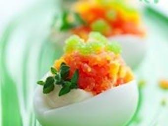Przekąska z jajek