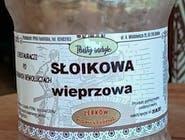 Kiełbasa słoikowa z szynki i boczku