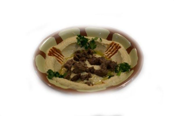Humus cu carne