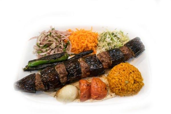 Kebab de vinete