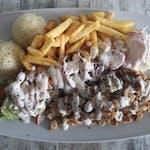 Kebab 600g tanier/box