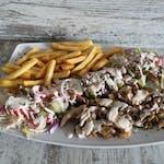 Kebab 400g tanier/box