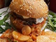 Kimchi burger zestaw