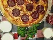 2x pizza Salami