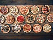 4x pizza 4x sosy 2x napój