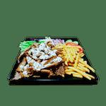 Kebab tanier s hranolkami