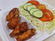 Wingsy so zeleninou